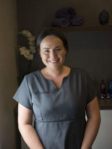 Claire - owner and senior beauty therapist at the Hair and Beauty Rooms, Chislehurst