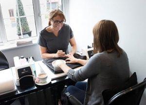 Manicure at Beauty Rooms Chislehurst