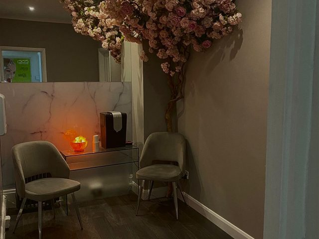 View of the upstairs relaxation rooms at The Hair and Beauty Rooms in Chilsehurst