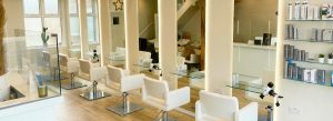 Hair salon area of The Hair and Beauty Rooms spa in Chislehurst