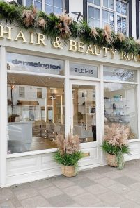 exterior of The Hair & Beauty Rooms in Chislehurst